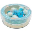 Penicilina (Penicillium chrysogenum) placa Petri