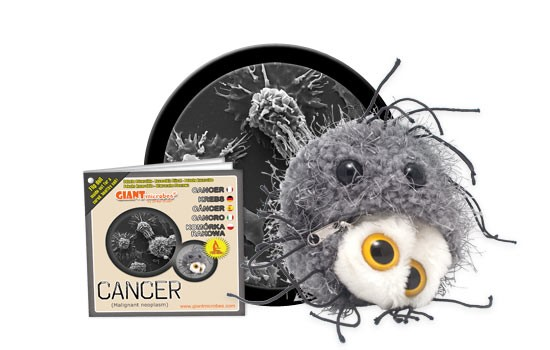 Cancer plush doll