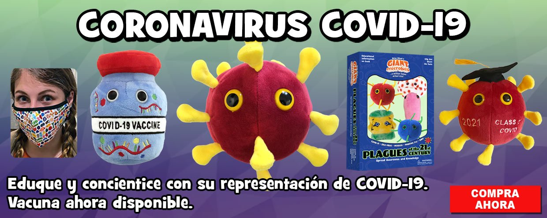 GIANTmicrobes Coronavirus COVID-19