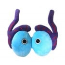 Testicles plush doll