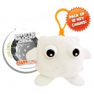 White Blood Cell Key Ring 12 Pack