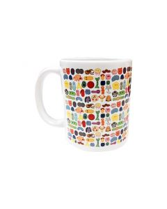GIANTmicrobes Art mug left