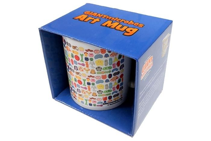 GIANTmicrobes Art mug with box