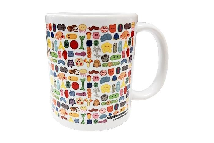 GIANTmicrobes Art mug right