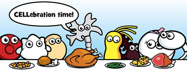 GIANTmicrobes Thanksgiving Caption Contest