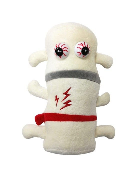 Back Pain plush doll