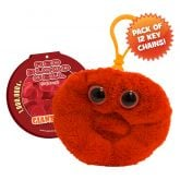 Red Blood Cell Key Ring 12 Pack