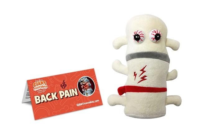 Back Pain plush doll