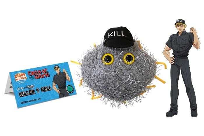 Cells at Work! Killer T plush doll