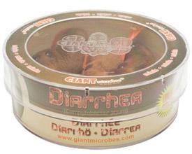 Diarrhea (Campylobacter jejuni) Petri Dish