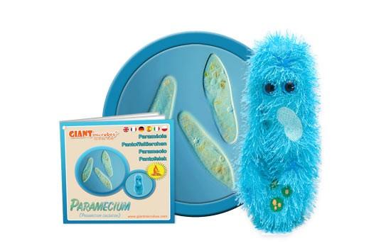 Paramecium plush doll