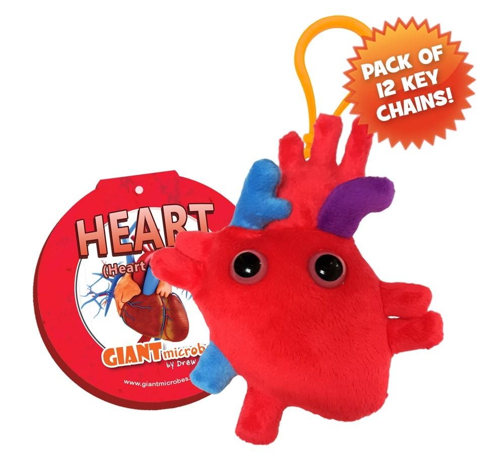 Heart Key Ring Pack