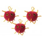 Coronavirus key chain 3-pack