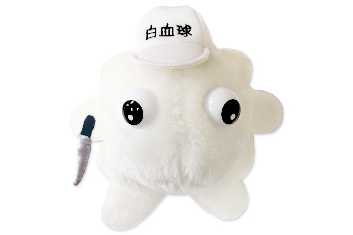 Cells at Work! White Blood plush