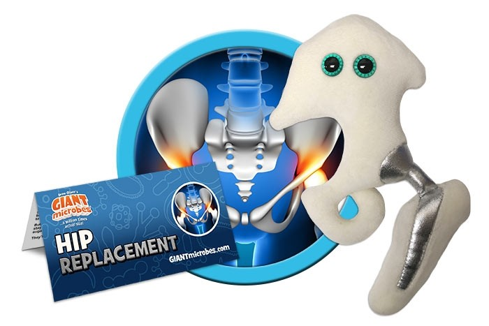 Hip Replacement plush doll