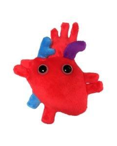 Heart plush doll