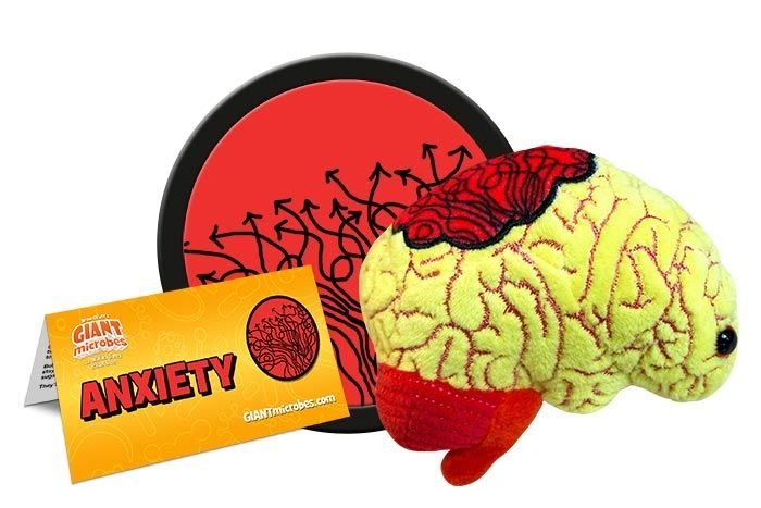 Anxiety plush cluster