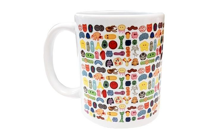 GIANTmicrobes Art mug left