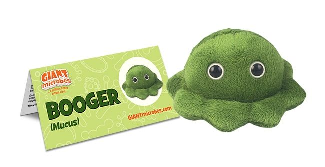Booger with tag