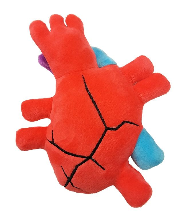 Broken Heart doll back