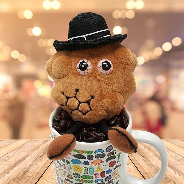 Caffeine with art mug