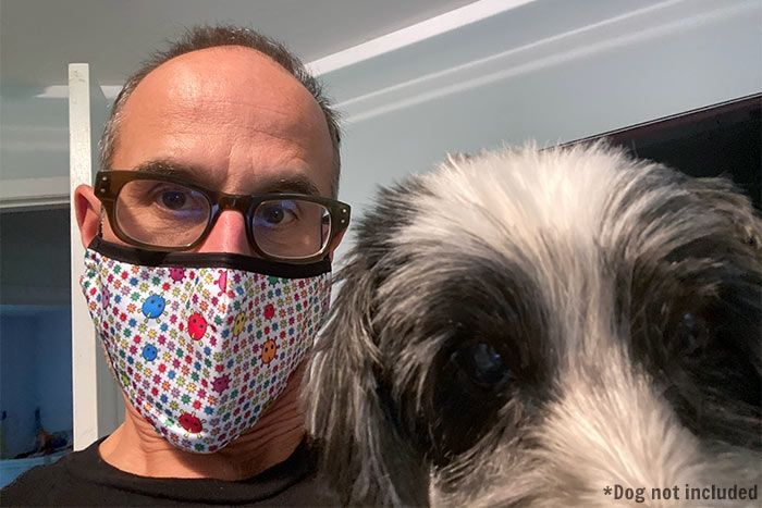 Coronavirus Face Mask dog
