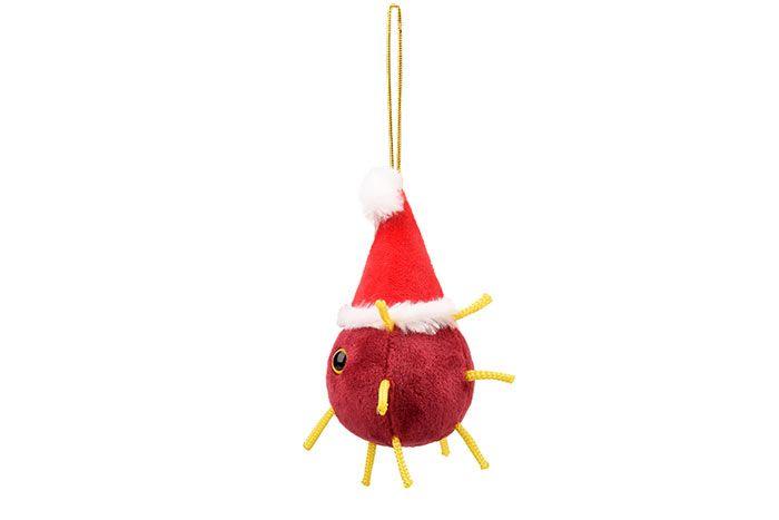Covid ornament side