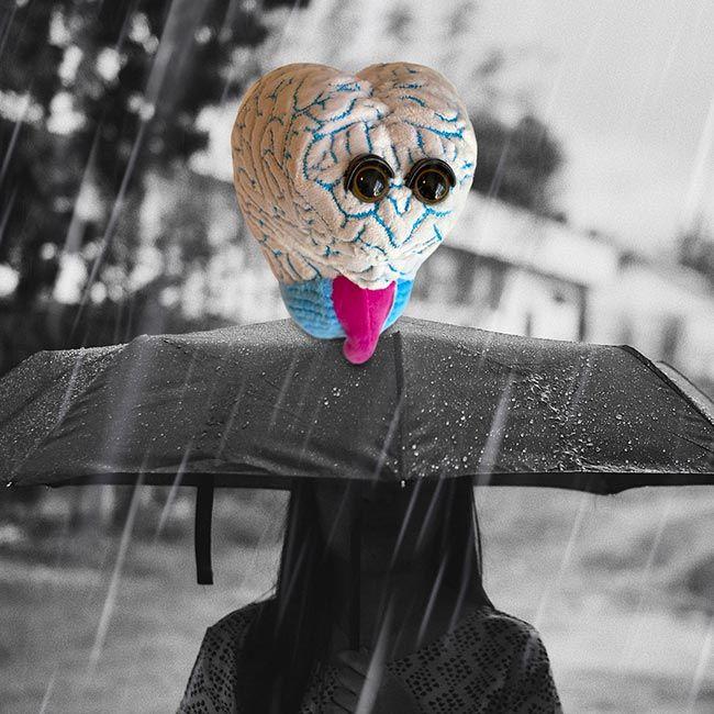 Depression in rain