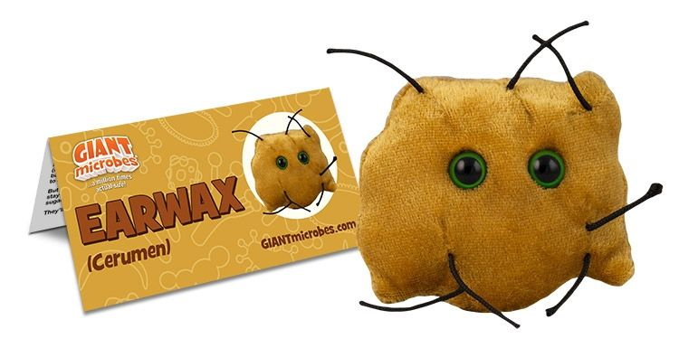 Earwax with tag