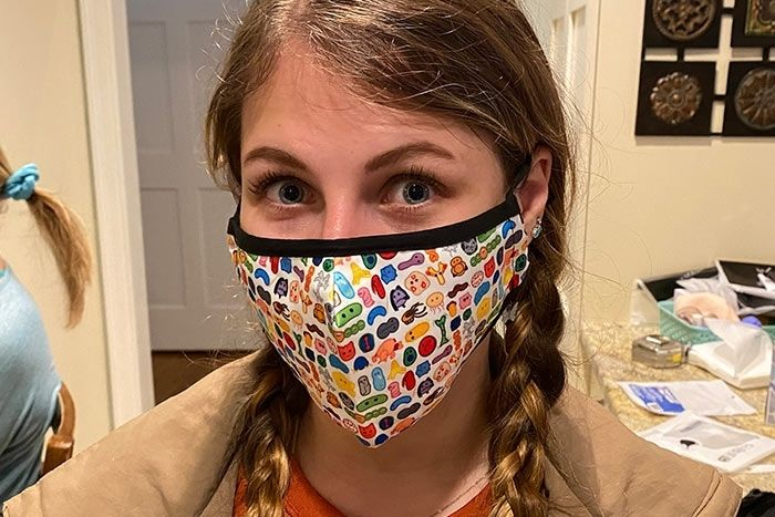 Face Mask person