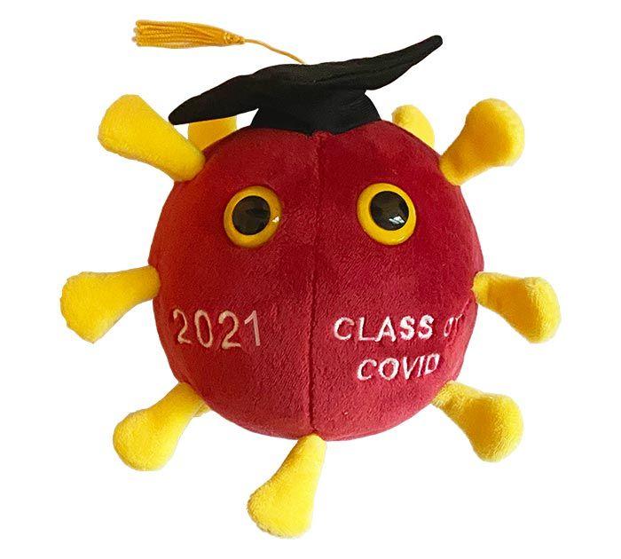 Graduation COVID 2021 plush doll