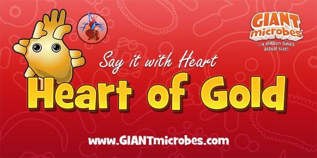 Heart of Gold hang tag