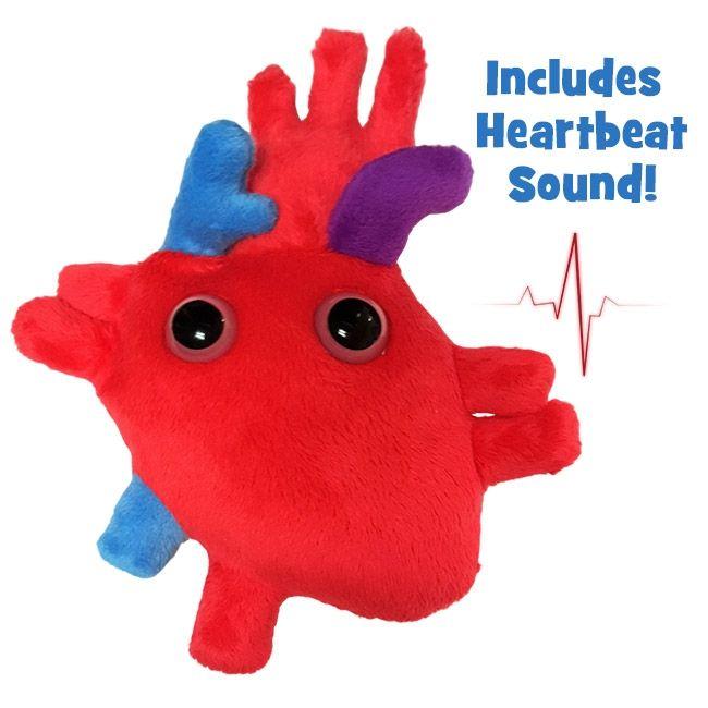 Heart organ sound doll