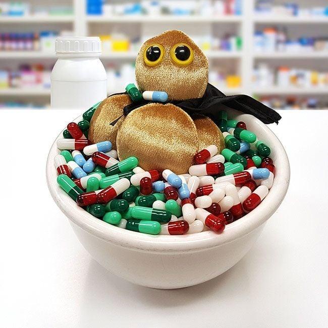 MRSA in pills