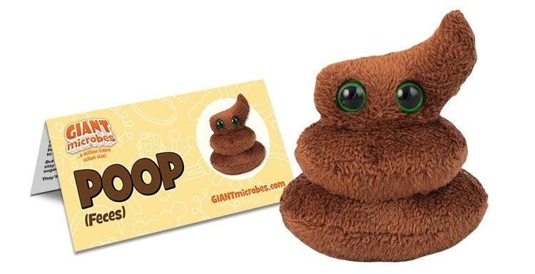 Poop with tag