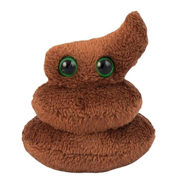 Poop plush doll