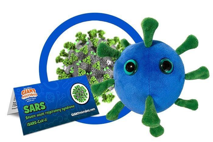 SARS plush cluster