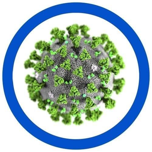 SARS real microbial image
