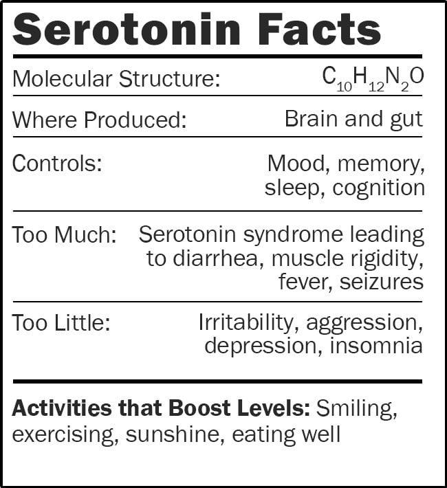 Serotonin facts