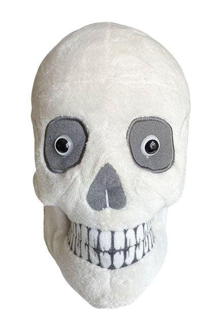 Skull plush front