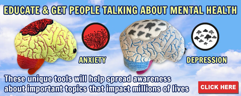 Educate & Get People Talking About Mental Health