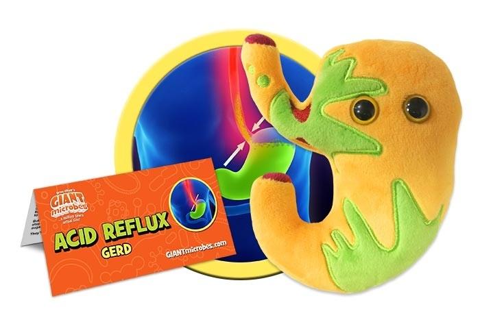 Acid Reflux plush doll