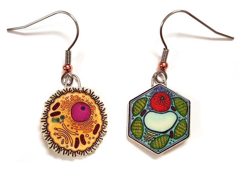 Animal Plant earrings