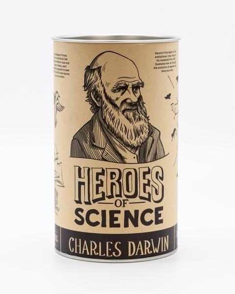 Darwin pint glass