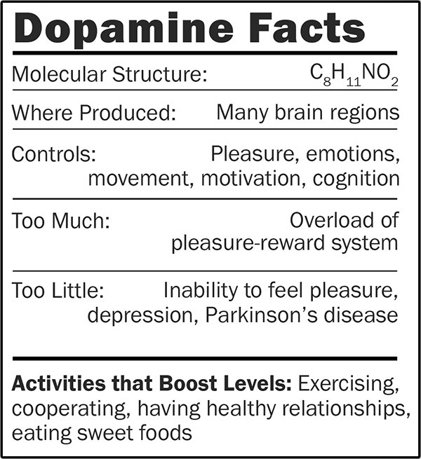 Dopamine plush doll