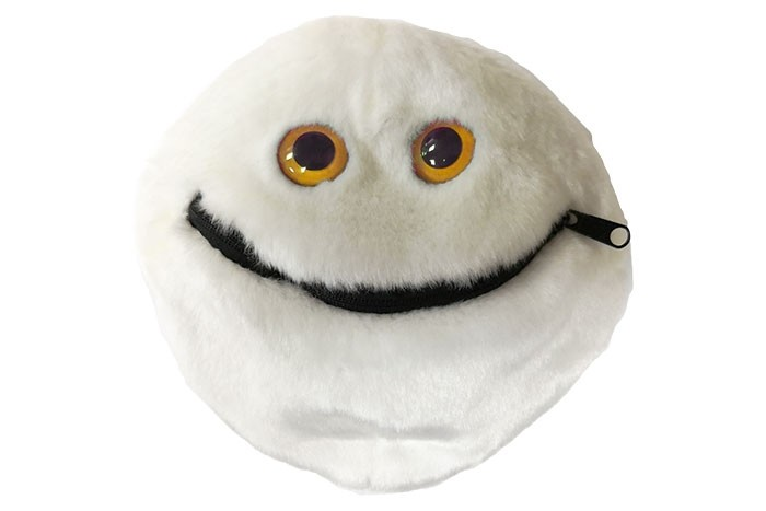 Kidney Cancer plush doll