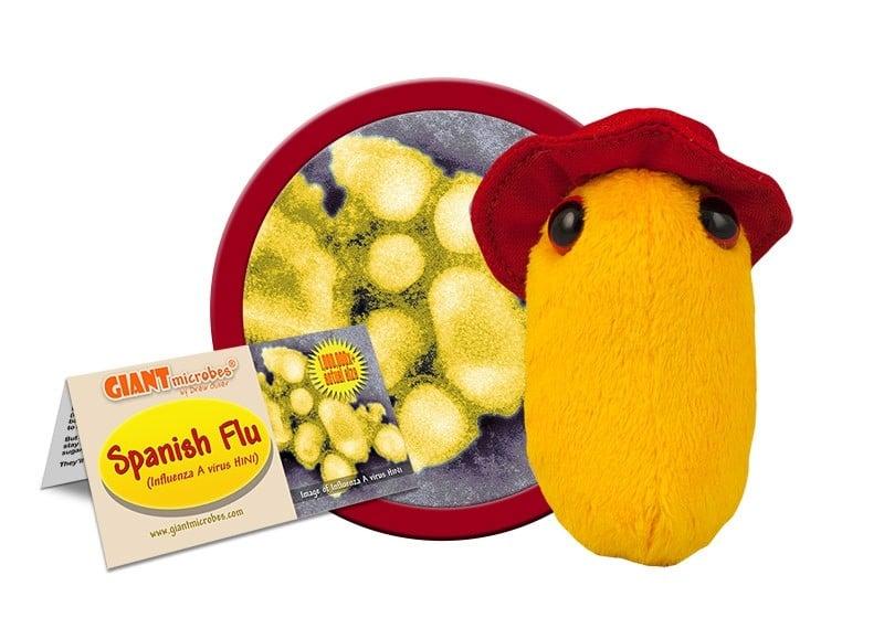 Spanish Flu doll