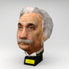 Einstein 3D Head Puzzle