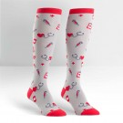 Nurse Knee High Socks