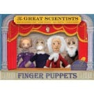Scientists Finger Puppet 4-Pack Set